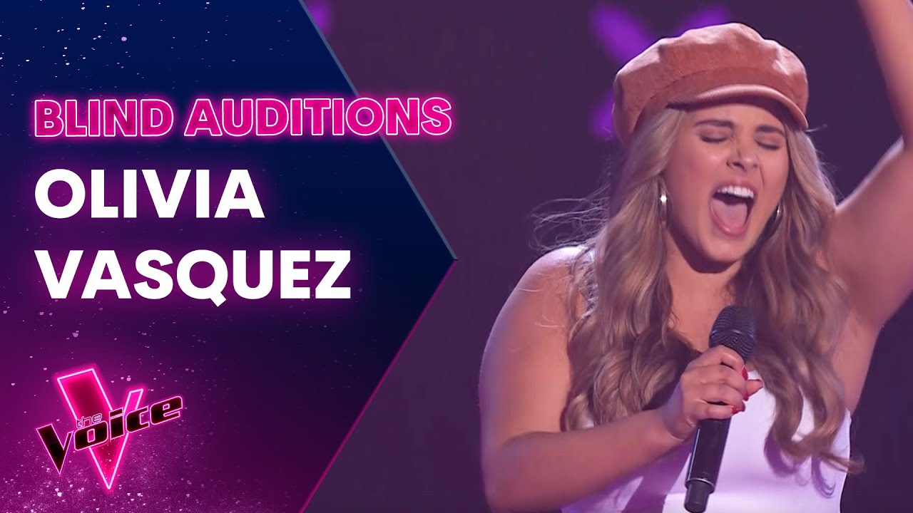 The Blind Auditions: Olivia Vasquez sings Sorry Not Sorry by Demi Lovato