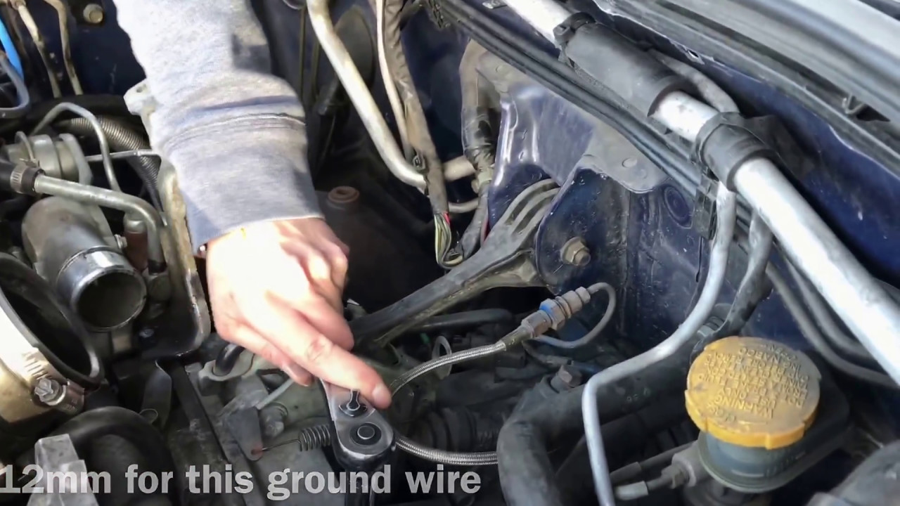 how to install a starter on your 02 07 wrx sti [ 1280 x 720 Pixel ]