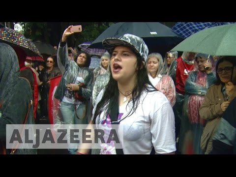 Brazil: Protesters call for President Temer to resign