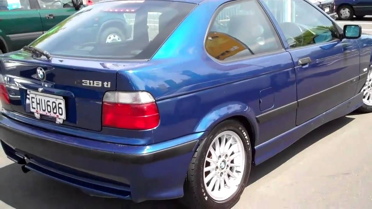 2000 BMW 318 Ti M Spec travelled 88000 Km For Sale At Wanganui