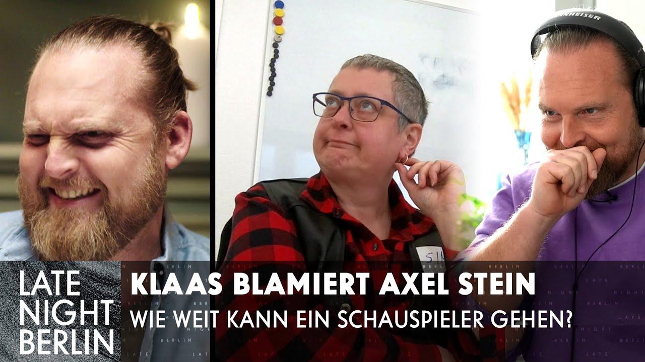 Peinliche Filme in der Marktforschung - Klaas blamiert Axel Stein | Late Night Berlin | ProSieben