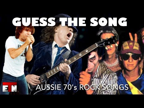 ETN Music Quiz  1970s Australian Rock Music HD