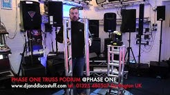 truss podium @ PhaseOne