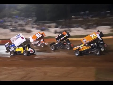 USCS Sprint Cars at Talladega, Feature Race, 6-1-2017