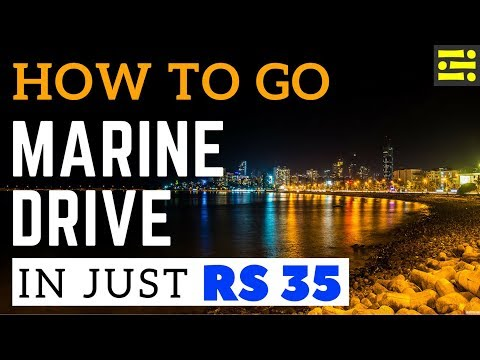 How to go Marine Drive in just Rs35 || Icepeak Travel