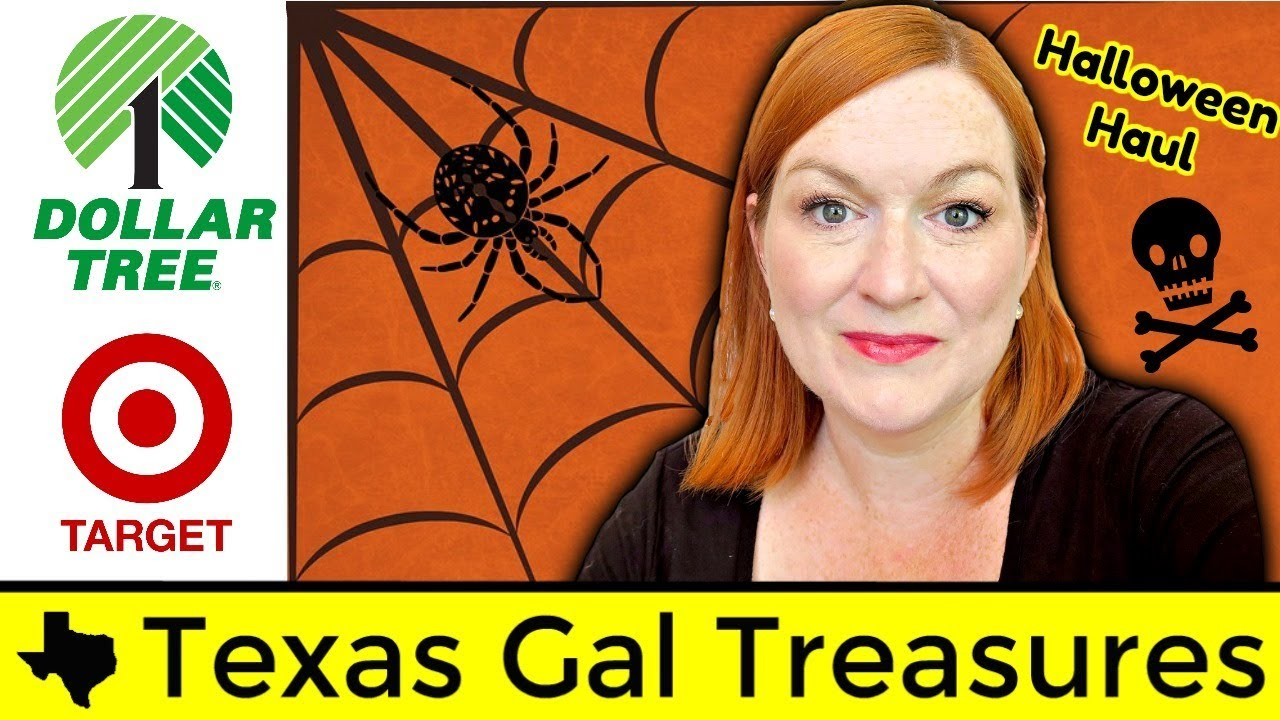 dollar tree halloween haul target one spot haul 2017 frugal halloween party ideas - Target Halloween Tree