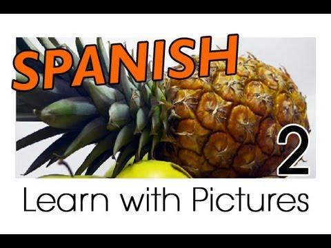 Vui học tiếng Tây Ban Nha chủ đề trái cây