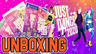 Just Dance 2020 (Wii/PS4/Xbox One/Switch) Unboxing