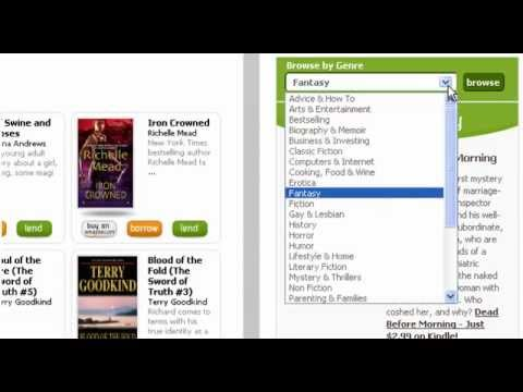 Browse by Genre on BookLending.com