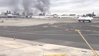 Newark warehouse fire