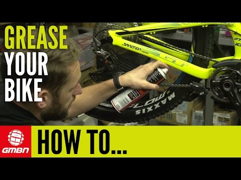 How To Apply Grease & Lube To Your Mountain Bike