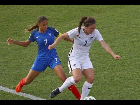 U20 Féminine, Mondial 2016 : France-Nouvelle-Zélande (2-0), Le Réusmé
