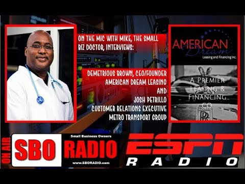 """On the Mic with Mike """"The Small Biz Doctor"""" feat. Demetrious Brown and Josh Petrillo"""