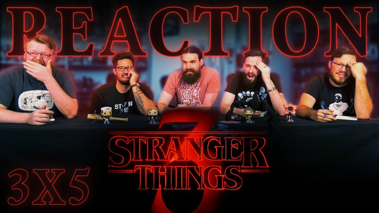 """Download Stranger Things 3x5 REACTION!! """"Chapter Five: The Flayed"""""""