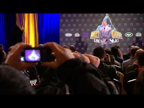 Vince McMahon kicks off the WrestleMania 29 Press Conference