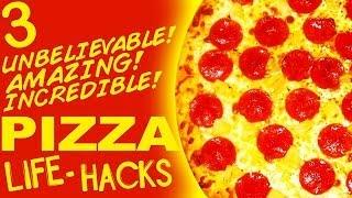 3 Unbelievable Pizza Life Hacks PARODY