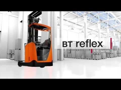 Ричтраки BT Reflex серии R и E для высоких нагрузок