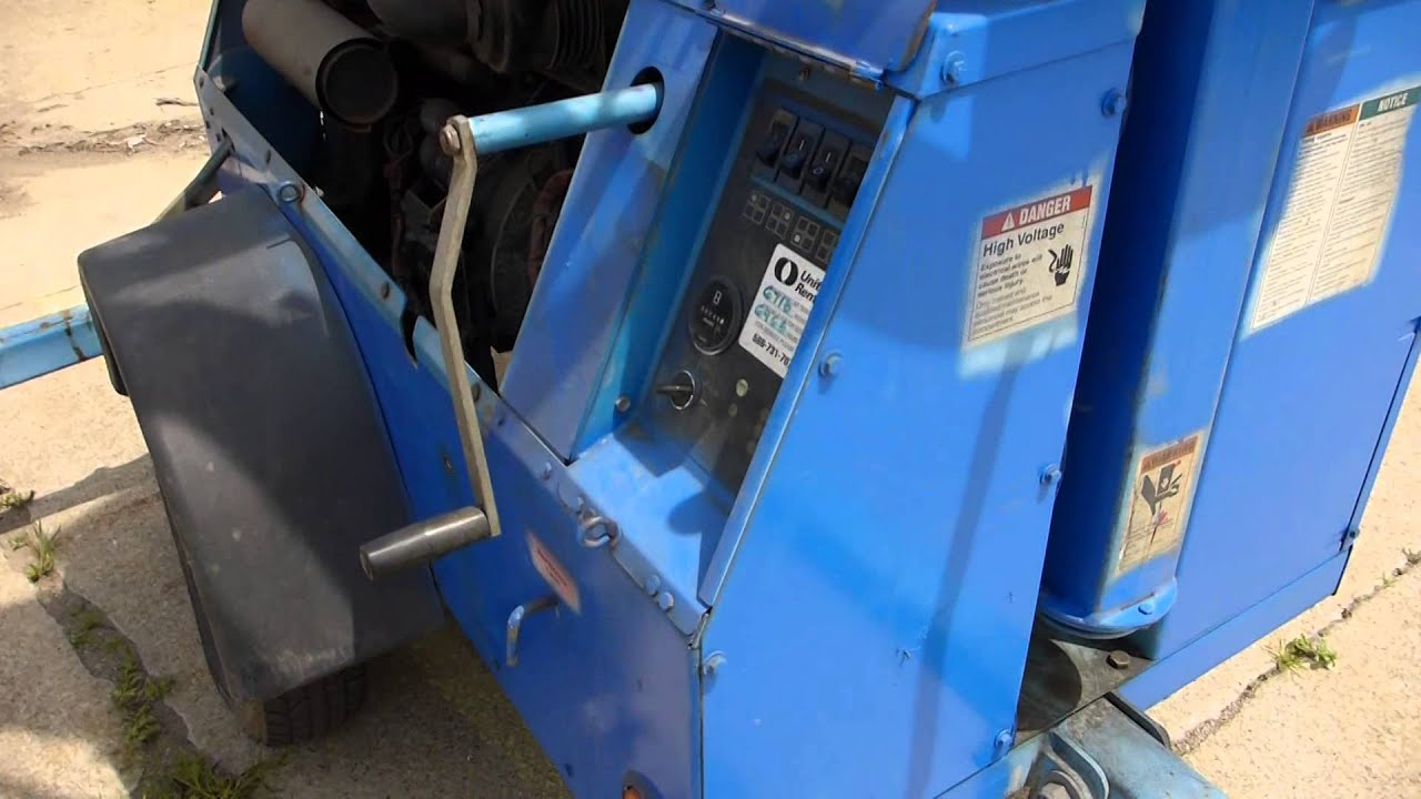 maxresdefault genie tml 4000n light tower and portable generator youtube doosan light tower wiring diagram at gsmx.co