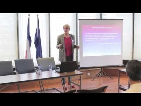 Public Lecture Series -- The French Connections - Lecture 1 by Ms. Stacy Belcher GOULD