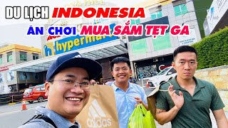 INDONESIA TRAVEL FROM SINGAPORE: Cheap Shopping Paradise and Discover Galang Vietnamese Refugee Camp