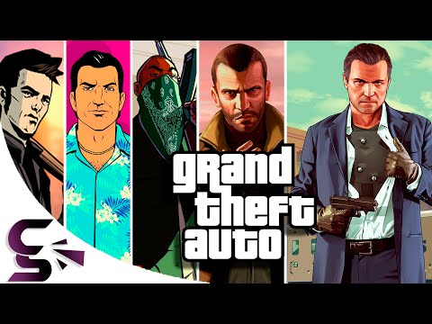 The Evolution Of Graphics: Grand Theft Auto (Console Edition)
