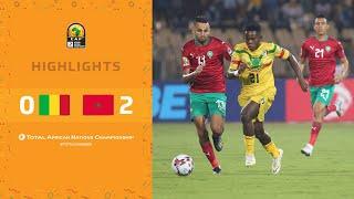 HIGHLIGHTS   Total CHAN 2020   Final: Mali 0-2 Morocco