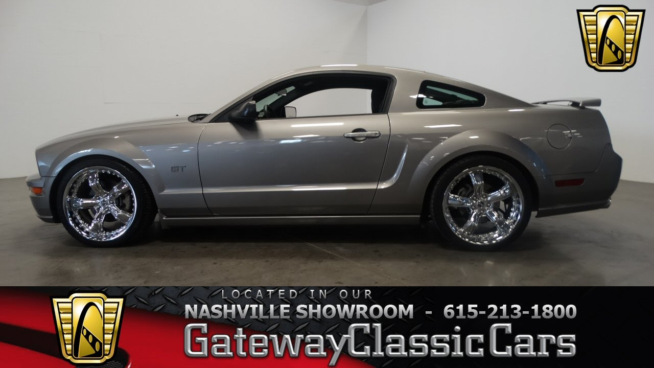 2008 Mustang Rims >> 2008 Ford Mustang Gt Roush Edition Gateway Classic Cars Nashville 320