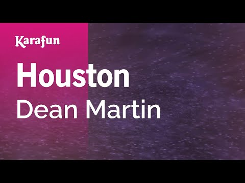 Karaoke Houston - Dean Martin *