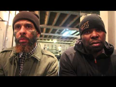 DON CHARLES & JOHN 'BANG BANG' REILLY INTRODUCE THE CONCEPT OF 'TURNOVER' (INTERVIEW @ MY GYM)