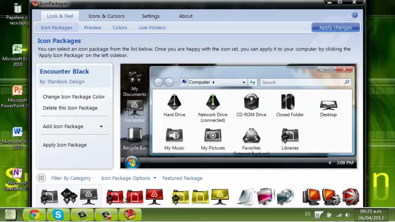 Instalar Iconos En Windows Vista Iorigen $ Apktodownload.com