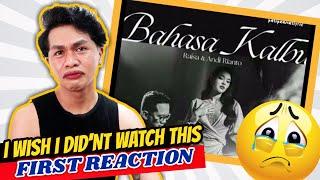 MUSIC ENTHUSIAST REACT TO Raisa & Andi Rianto - Bahasa Kalbu (Official Music Video) | NEIL GALVE