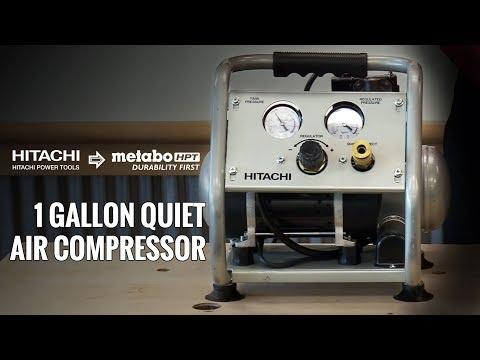 hitachi-1-gallon-quiet-air-compressor