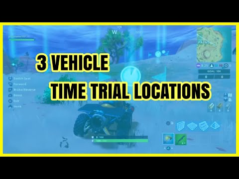Fortnite: Complete 3 Vehicle Time Trials | LOCATIONS & GUIDE |