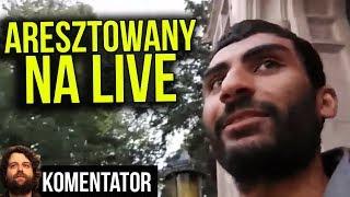 YouTuber Aresztowany na Live Streamie za Udawanie Terrorysty w USA - Śmieszne ? - Analiza Komentator