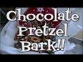 Chocolate Pretzel Bark!! Noreen's Kitchen