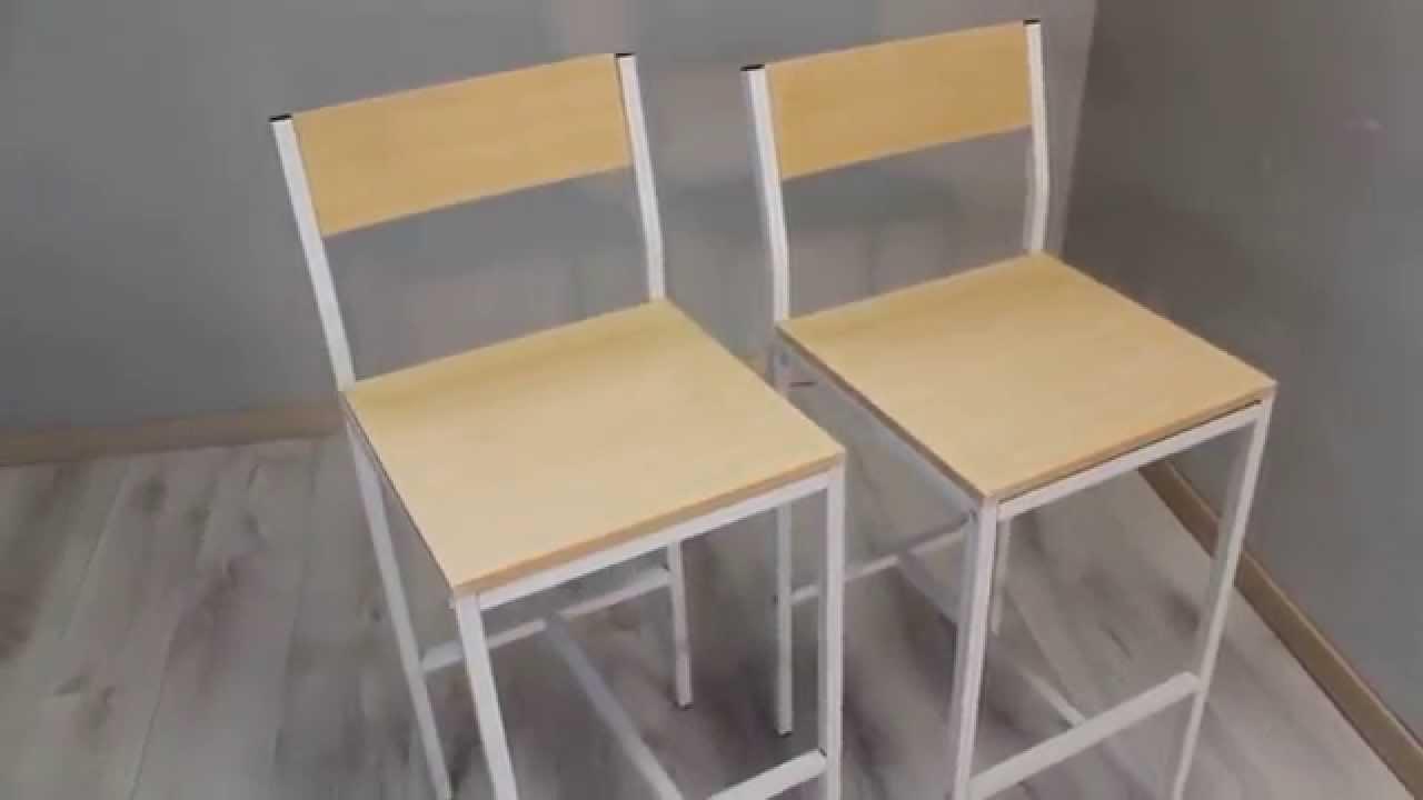 Set 2 sgabelli bar mod. jesolo di yelloo youtube
