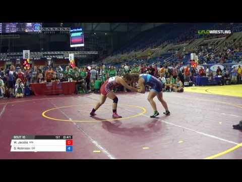 Championship 164 Round of 16 - Melissa Jacobs (MN) vs. Olivia Robinson (OR)
