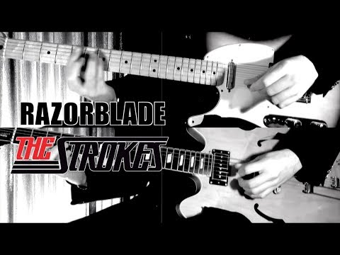 Razorblade - The Strokes  ( Guitar Tab Tutorial & Cover )