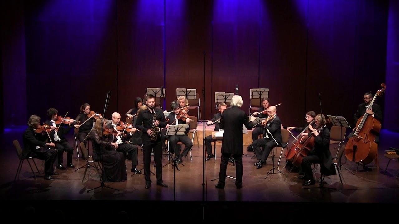 A. Glazunov: Saxophone Concerto op. 109 | Oskar Laznik, Kammersymphonie Berlin, Jürgen Bruns