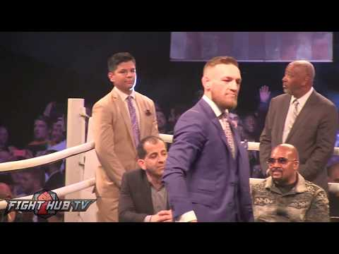 "Thumbnail: Conor McGregor goes after Mayweather's security, calls them ""JUICEHEAD TURKEYS"""