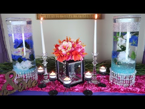 "DIY ""Floating on Love"" Centerpiece"