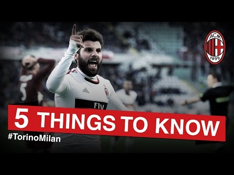 Torino-AC Milan: 5 things to know | AC Milan Official