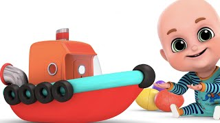 Surprise Eggs | Ship Toys for Kids | Surprise Eggs Videos for kids