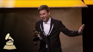 Flume Wins Best Dance/Electronic Album | Acceptance Speech | 59th GRAMMYs