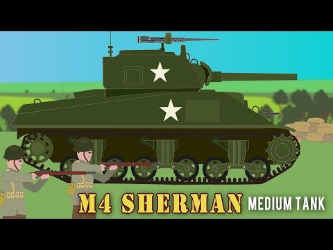 WWII Tanks: Sherman Tank