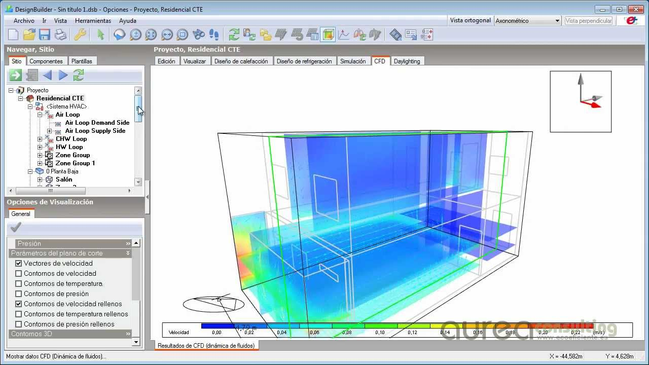 Designbuilder simulaci n energ tica de edificios youtube for Blueprint builder free