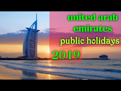 Uae public holiday in 2019(13 days public holidays) m media star
