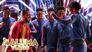 Maluma en la despedida de la Selección Colombia♥ | MalumaVlogs