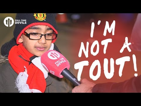 I'm Not A Tout! 8 Year Old BANNED by Manchester United!