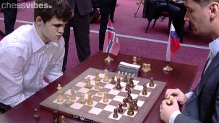Repeat youtube video Carlsen-Morozevich, World Blitz Championship 2012